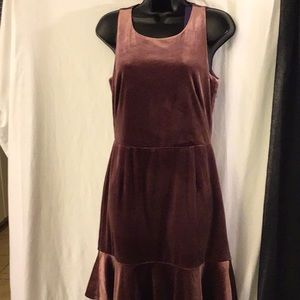 Rebecca Minkoff Tiffany Dress Mauve Crush Velvety